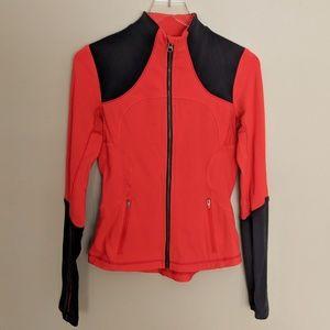 Lululemon Brushed Forme Jacket in Love Red